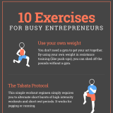 Top 10 Quick Exercises for Busy Execs